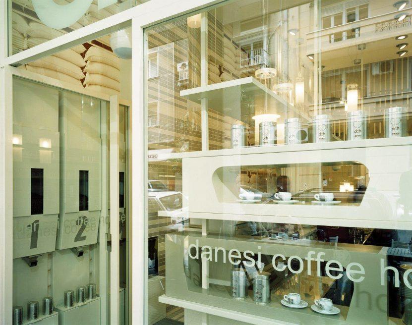 Danesi Coffee House, Kolonaki Athens